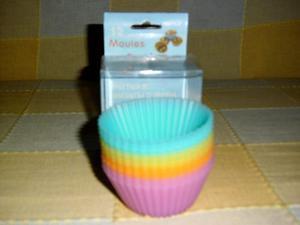 Moldes De Silicona Para Cupcakes - A 12 X....