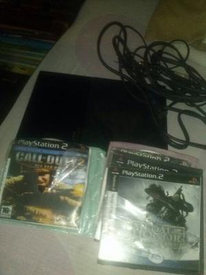 Play 2 Para Respuesto Con Sus Cables