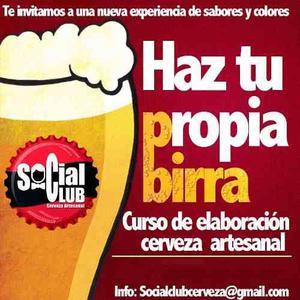 Taller Curso Elabora Tu Propia Birra Artesanal En Caracas