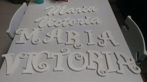 Letras En Mdf 15cm De Alto