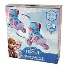 Patines Lineales Frozen De La 26 A La 29 Importados De Usa