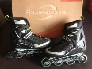 Patines Lineales Rollerblade Nuevos Con Protectores (nuevos)