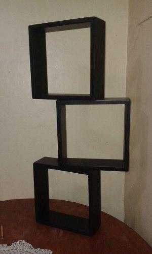 Repisas Minimalistas Cubos, Estantes, Lisos Calados Mdf