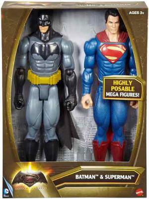 Batman Y Superman 100% Original Mattel
