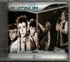 Cd Serie Playinum Soda Stereo Y Los Fabulosos Cadillacs