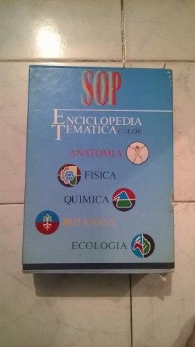 Enciclopedia Tematica Editorial Sopena A Todo Color.