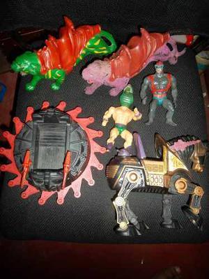 Figuras De He-man Master Of Universe De Los 80
