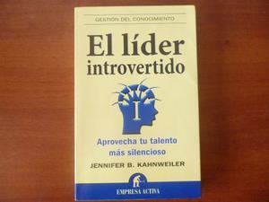 Libro El Lider Introvertido Empresa Activa