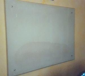 Pizarra De Vidrio Templado Viscelado De 5mm 1,10x1,50mts
