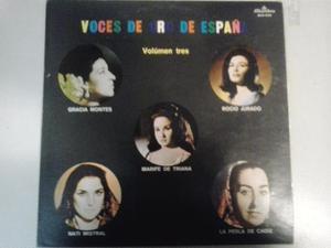 Voces De Oro De España