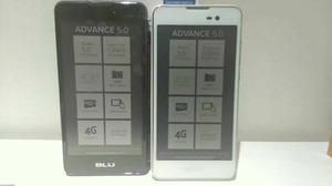 Blu Advance 5.0 Blanco Y Negro Nuevos.