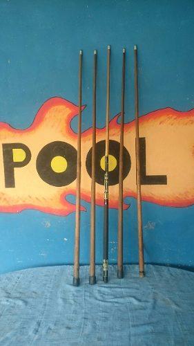 Combo De 5 Palos O Tacos De Pool Y Billar