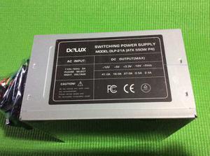 Fuente De Poder 550 Con Cable De Poder