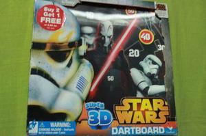 Juego De Dardos Disney Star Wars Super 3 D