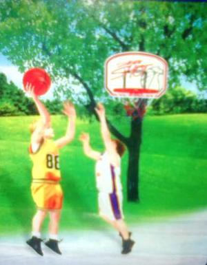 Juguete Para Niños (Basketball)