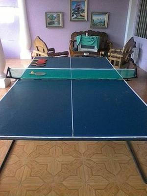 Mesa De Ping Pong Casera Malla Raqueta Posot Class