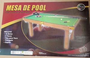 Mesa De Pool Grande Jeidy Toys Original