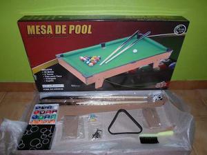 Mesa De Pool Para Niños Marca Jeidy Toys