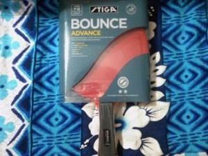 Raqueta De Ping Pong Tenis Stiga Bounce Advance 2* Original