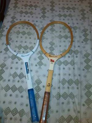 Raquetas De Tenis De Madera El Juego