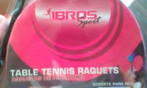 Raquetas Para Tenis De Mesa Pin Pon Marca Ibros Sport.