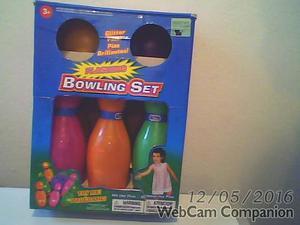 Set De Bowling Para Niños (usado)