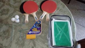 Set De Ping Pong Para 4 Personas Marca Tamanaco