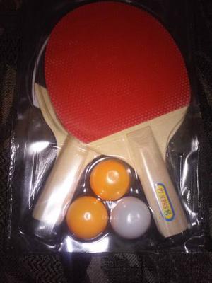 Set De Raquetas Ping Pong