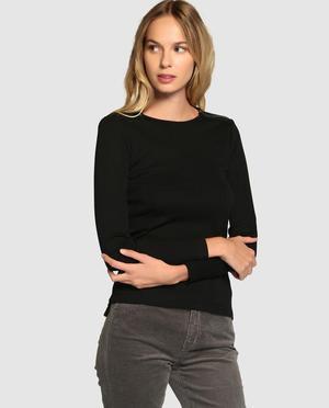 Blusas casuales manga larga