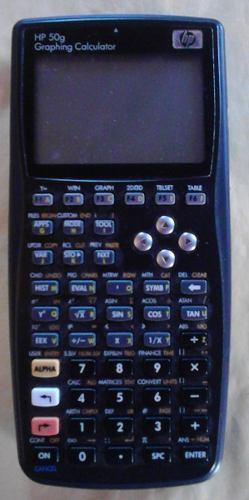 Calculadora Grafica Hp 50 G, (precio De Remate Por No Usar)