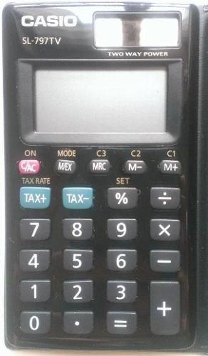 Calculadora Ocho (8) Digitos Puerto Ordaz
