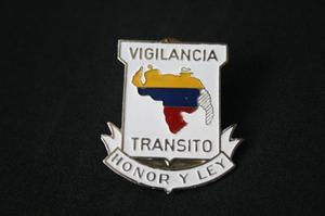 Insignia Antigua De Vigilancia Tránsito (colección) 5x4