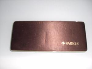 Juego De Lapicero Y Pluma Parcker Placa De Oro 18 Original