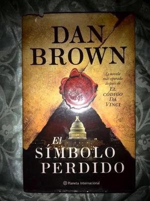 Libro Dan Brown. El Simbolo Perdido. Muy Poco Uso