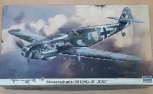 Modelo Para Armar Bf109 G10 Hasegawa, Escala 1/48