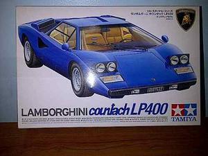Modelo Para Armar Lamborghini Countach, Tamiya Escala 1/24