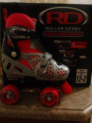 Patines 4 Ruedas Roller Derby 12-2