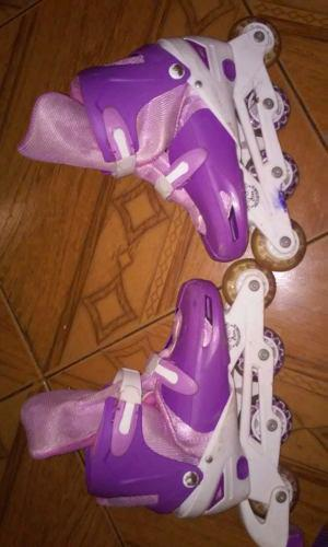 Patines Lineales Con Luces