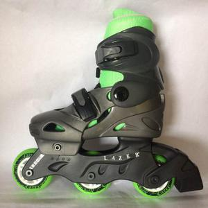 Patines Lineales Lazer Verde Talla S