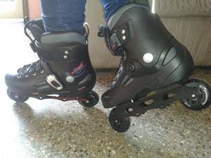 Patines Roller Blade Negros Como Nuevos!!! 100!!bf