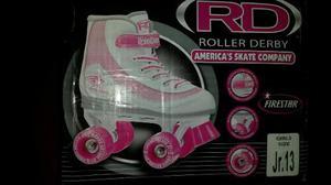 Patines Soy Luna Roller Derby Totalmente Nuevos Talla