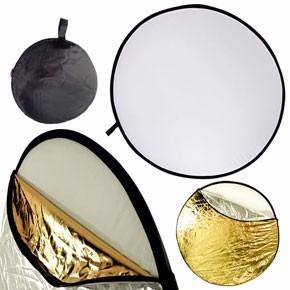 Rebotador Reflector De Luz 5 En 1 De 110 Cm Marca Fotga
