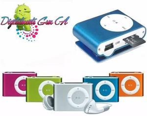 Reproductor Mp3 Shuffle Con Ranura Microsd Somos Tienda