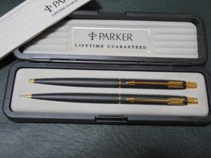 Set De Bolígrafo Y Portamina Marca Parker