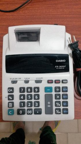 Sumadora De 12 Digitos Casio