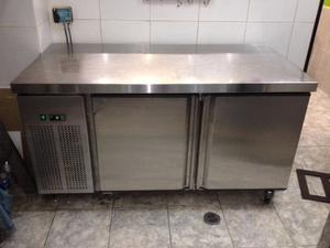 Mesa Refrigerada Nevera Invitrel Como Nueva Motor 1/6 Hp