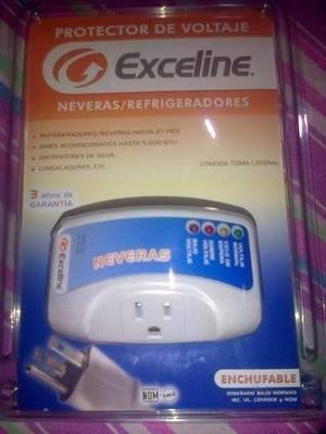 Protector De Voltaje Exceline Neveras Refrigeradores