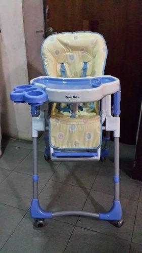 Silla De Comer Para Bebé Marca Happy Baby (usada)