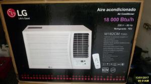 Aire Acondicionado LG Ventana 12 y 18 mil Btu NUEVOS