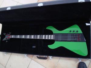 Bajo Dean Demonator-4 Bass Limited Edition  Green/black